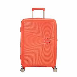 American Tourister Soundbox Medium Spinner Suitcase Peach