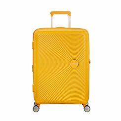 American Tourister Soundbox Medium Spinner Suitcase Yellow