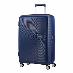 American Tourister Soundbox Large Spinner Suitcase Midnight Navy