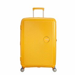 American Tourister Soundbox Large Spinner Suitcase Yellow