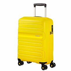 American Tourister Sunside Spinner Cabin Suitcase Sunshine Yellow
