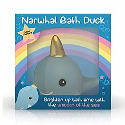 Light up Floating Narwhal Duck