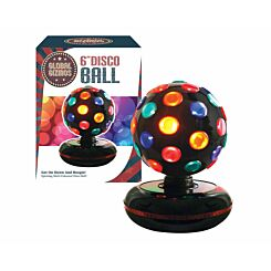 Global Gizmos 6 inch Disco Ball Mains Powered Light
