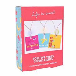 Positive Vibe String Lights