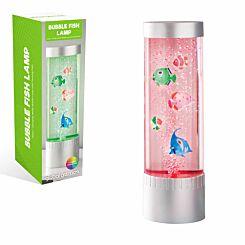 Colour Changing Desktop Bubble Fish Lamp 32cm