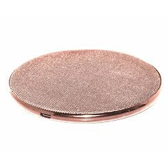Mayhem Wireless Charger 5W Fabric Rose Gold