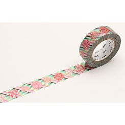 mt Washi Tape Candy 15mm x 10m