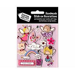 Express Yourself Fairy Princess Stick-On Decorations