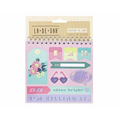 La De Dah Self-Adhesive Sticker Flip Book 5 Sheets