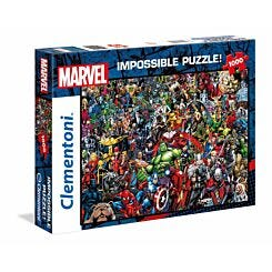 Clementoni Impossible Jigsaw Puzzle Marvel 1000 Pieces