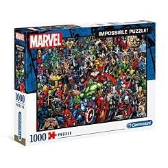Clementoni Impossible Jigsaw Puzzle Marvel 1000 Pieces