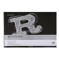 Ryman Sketch Pad A2 200gsm