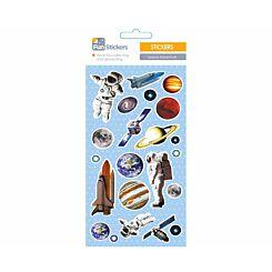 Fun Stickers Space Adventure Theme