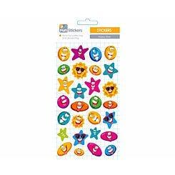 Fun Stickers Happy Stars Theme