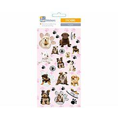 Fun Stickers Puppies Theme