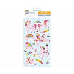 Fun Stickers Unicorns Theme
