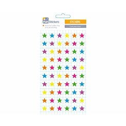 Fun Stickers Coloured Stars Theme