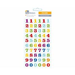 Fun Stickers Coloured Numbers