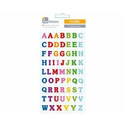 Fun Stickers Coloured Letters