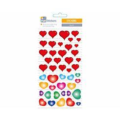 Fun Stickers Hearts