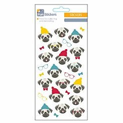 Fun Stickers Cute Dog
