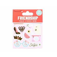 Dovecraft Friendship Foiled Sticker Book