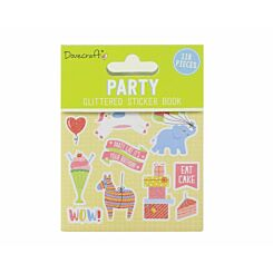 Dovecraft Party Glittered Sticker Book
