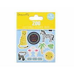 Dovecraft Zoo Glittered Sticker Book