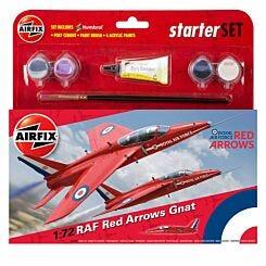 Airfix Red Arrow Gnat Small Starter Kit