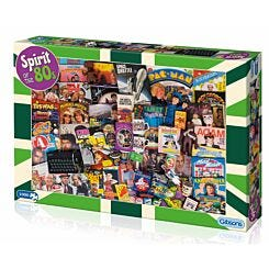 Gibsons Jigsaw Puzzle Spirit of the 80s 1000 Pieces