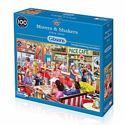 Gibsons Movers and Shakers 500 Piece Jigsaw Puzzle