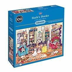 Gibsons Barks Books 1000 Piece Jigsaw Puzzle
