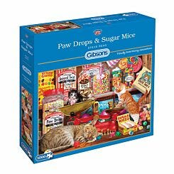Gibsons Paw Drops and Sugar Mice 1000 Piece Jigsaw Puzzle