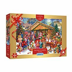 Gibsons Limited Edition Christmas 2020 Puzzle 1000 Piece