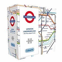 Gibsons London Underground Map Puzzle 500 Piece