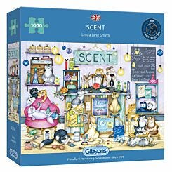 Gibsons Scent 1000 Piece Jigsaw Puzzle