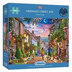 Gibsons Mermaid Street Rye 1000 Piece Jigsaw Puzzle