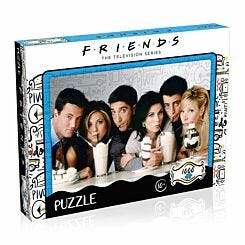 Friends Milkshake Edition 1000 Piece Jigsaw Puzzle