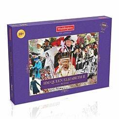 HM Queen Elizabeth II Montage 1000 Piece Jigsaw Puzzle