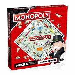 London Monopoly 1000 Piece Jigsaw Puzzle