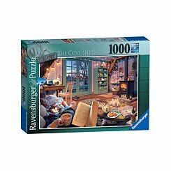 Ravensburger My Haven No 6. The Cosy Shed 1000 Piece Jigsaw Puzzle