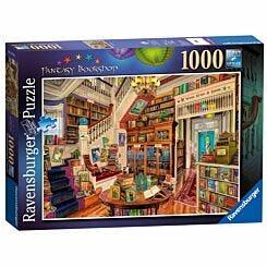 Ravensburger The Fantasy Bookshop 1000 Piece Jigsaw Puzzle