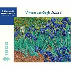 Van Gogh Irises 1000 Piece Puzzle