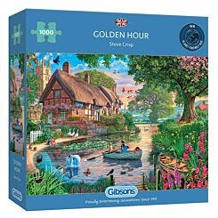 Gibsons Golden Hour 1000 Piece Jigsaw Puzzle
