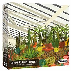 Gibsons Brutalist Conservatory 500 Piece Jigsaw Puzzle