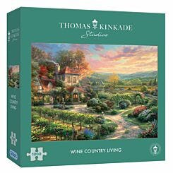 Gibsons Kinkade Edition Wine Country Living 1000 Piece Jigsaw Puzzle