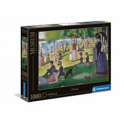 Clementoni George Seurat A Sunday Afternoon 1000 Piece Puzzle