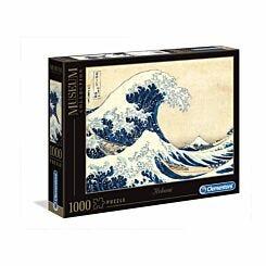 Clementoni Puzzle Hokusai The Great Wave 1000 Piece Puzzle