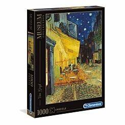 Clementoni Van Gogh Cafe Terrace at Night 1000 Piece Puzzle