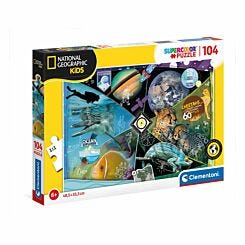 Clementoni National Geographic Explorers in Training 104 Piece Puzzle